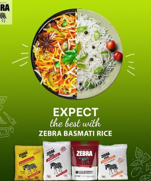 Zebra Basmati Rice