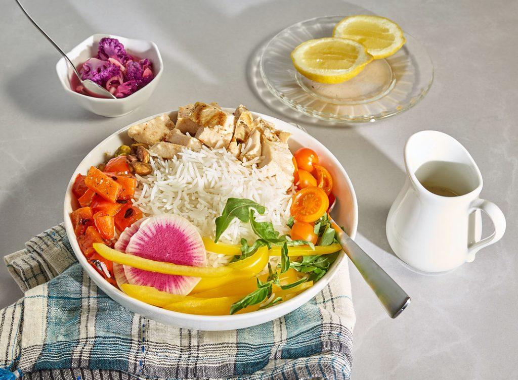 California Rice Bowl Meal